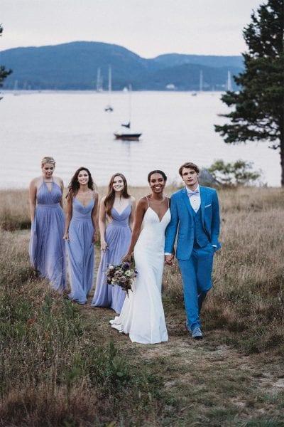 Bridesmaid - Something Blue Bridesmaid dresses